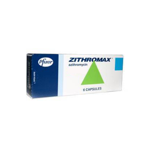 ZITHROMAX (AZITHROMYCIN) 250 mg 90 Stück